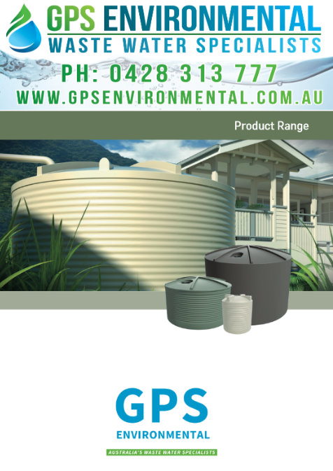 GPS RAINWATER TANKS Brochure
